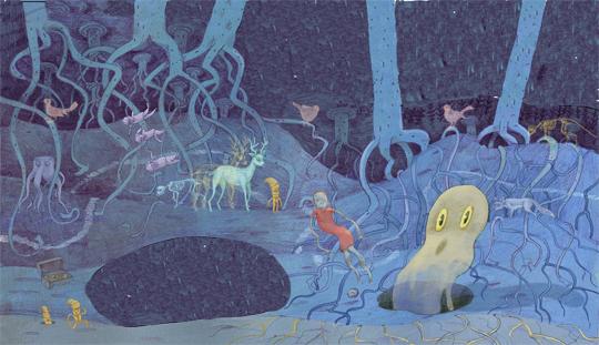 undersjorden