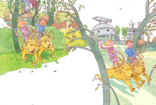 bild ur När prinsessor går på zoo